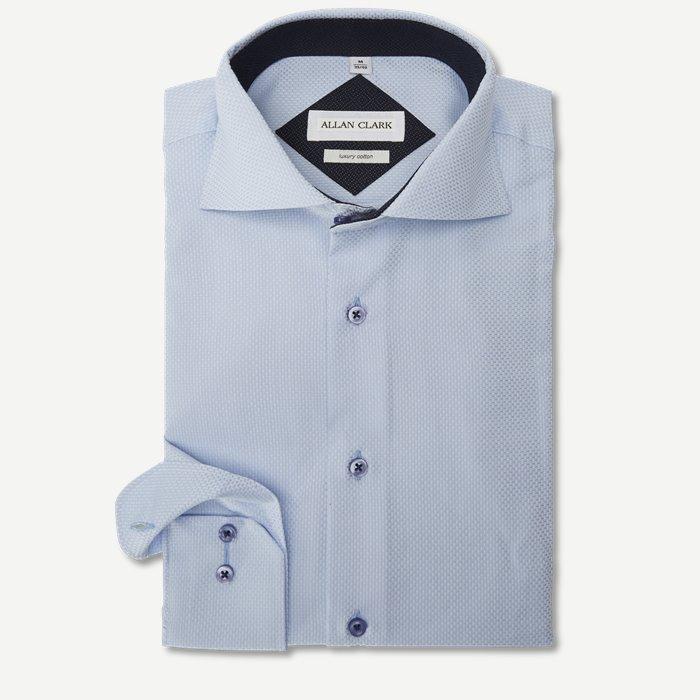 Roberts Skjorte - Skjorter - Modern fit - Blå