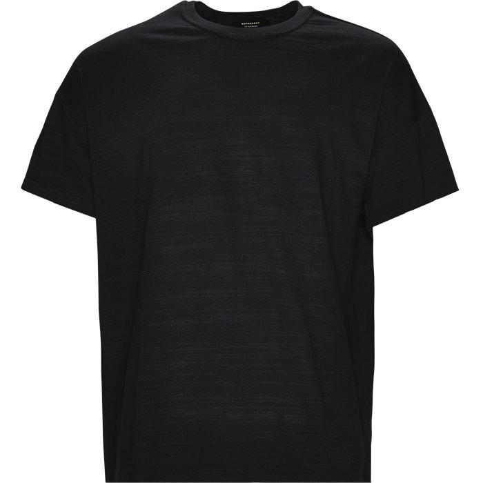Flag Tee - T-shirts - Loose - Sort