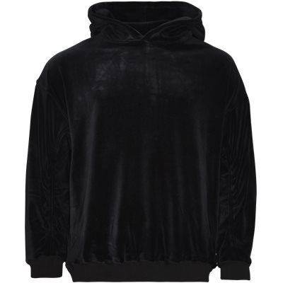 Velour Sweat Loose | Velour Sweat | Sort