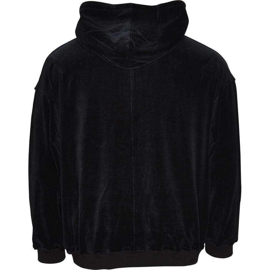 VELOUR SWEAT - Velour Sweat - Sweatshirts - Loose - SORT - 2