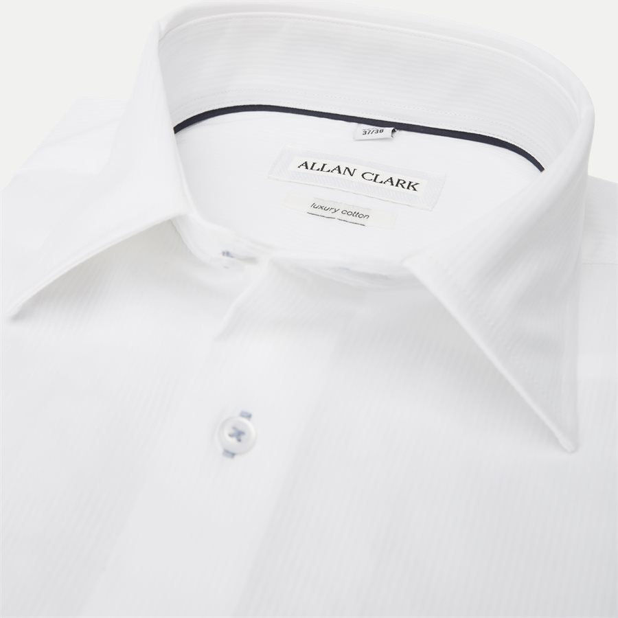 DIEGO - Diego Skjorte - Skjorter - Regular - WHITE - 2