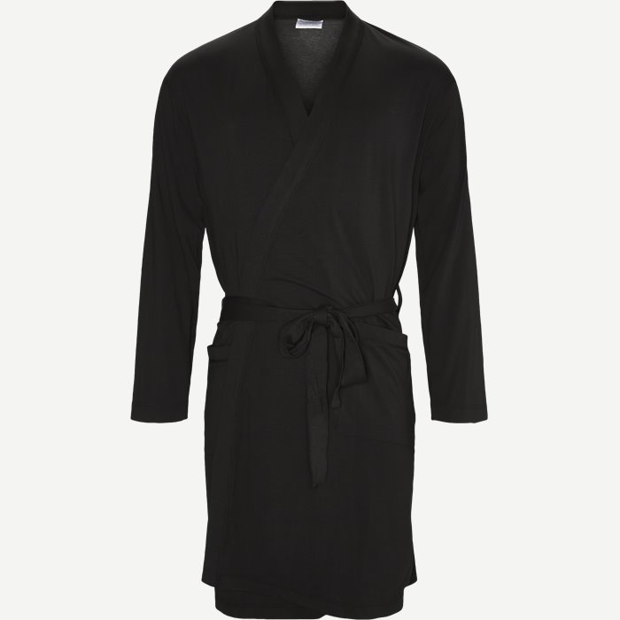 Knitted Robe - Undertøj - Regular - Sort