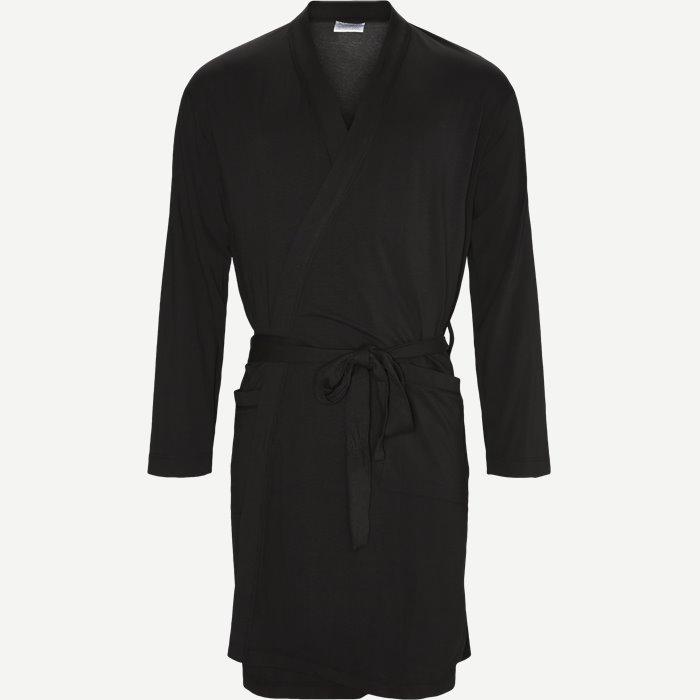 Knitted Robe - Undertøj - Regular - Sort
