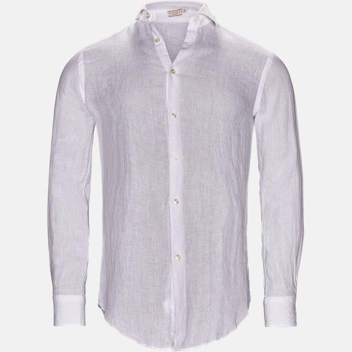 skjorte - Skjorter - Tailored fit - Hvid
