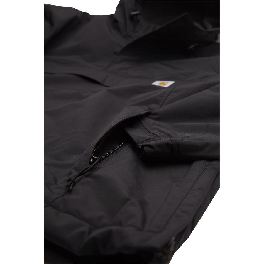 NIMBUS PULLOVER. I021872 - Nimbus Pullover - Jakker - Regular - BLACK - 4