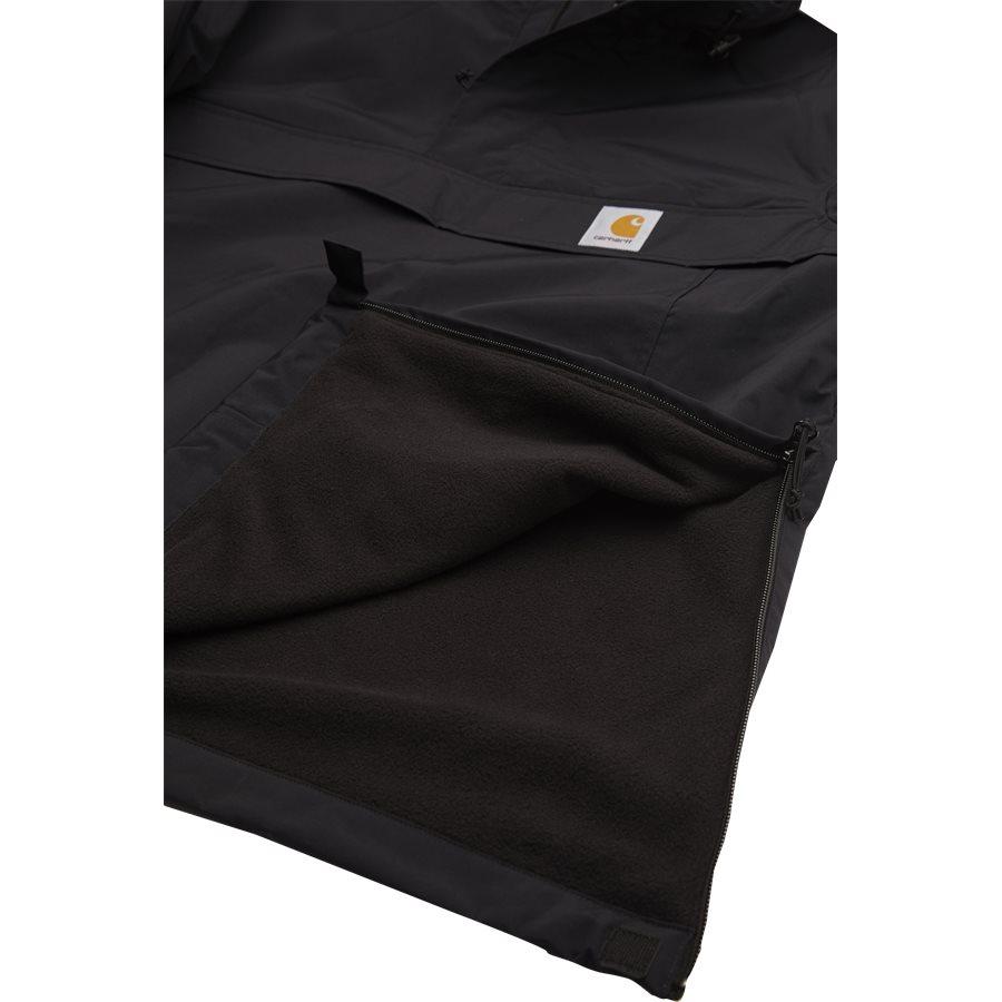 NIMBUS PULLOVER. I021872 - Nimbus Pullover - Jakker - Regular - BLACK - 5
