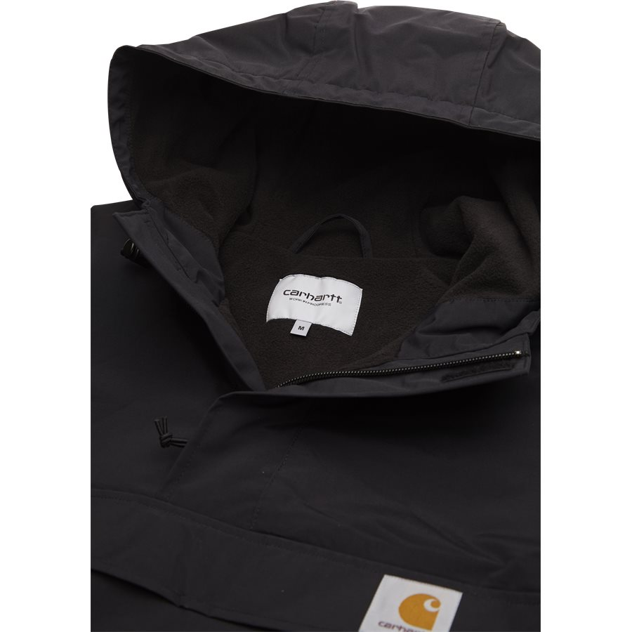 NIMBUS PULLOVER. I021872 - Nimbus Pullover - Jakker - Regular - BLACK - 6