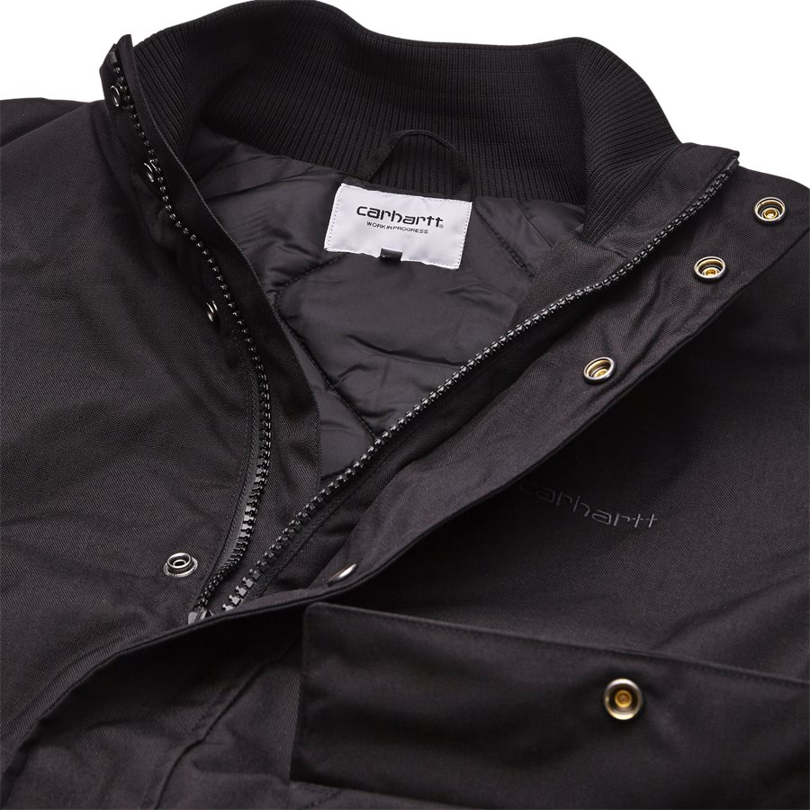 PAYTON JACKET I025106 - Payton Jacket - Jakker - Regular - BLACK/BLACKSMITH - 3