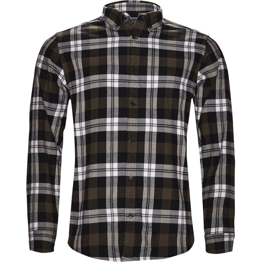 L/S LESSING I025230 - L/S Lessing Skjorte - Skjorter - Regular - CHECK/GARDEN - 1