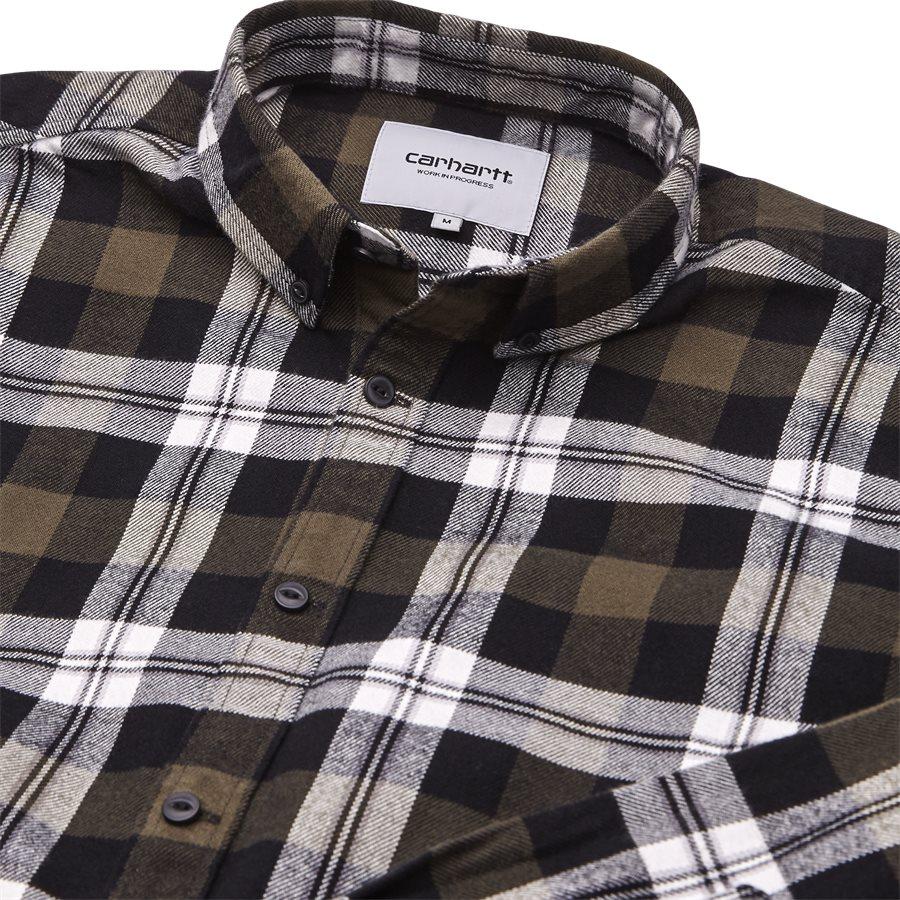 L/S LESSING I025230 - L/S Lessing Skjorte - Skjorter - Regular - CHECK/GARDEN - 3