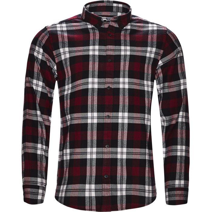 L/S Lessing - Skjorter - Regular - Rød