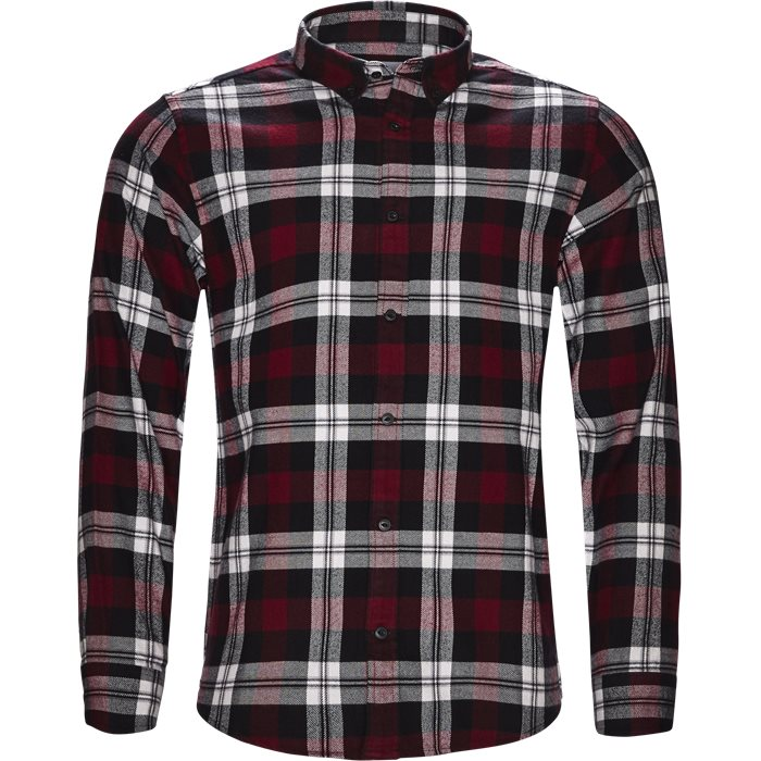 Shirts - Regular - Red