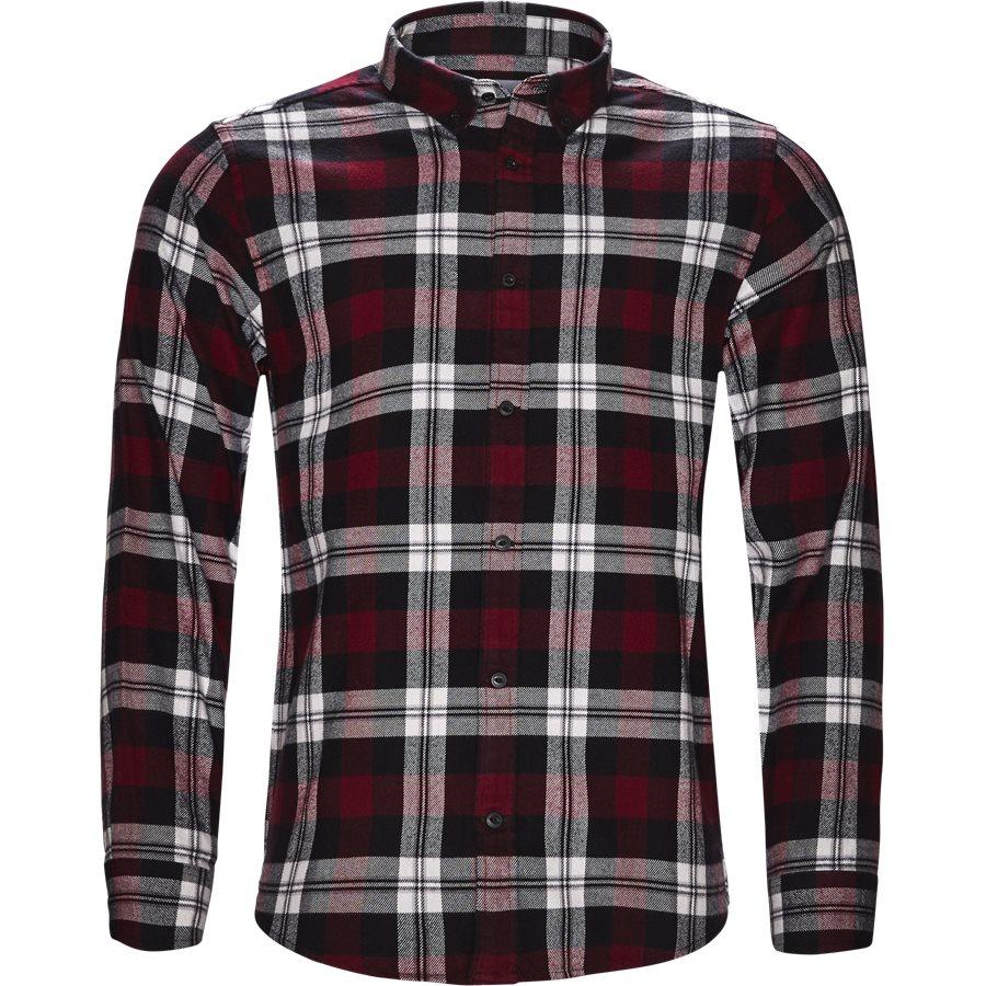 L/S LESSING I025230 - L/S Lessing Skjorte - Skjorter - Regular - CHECK/MULBERRY - 1