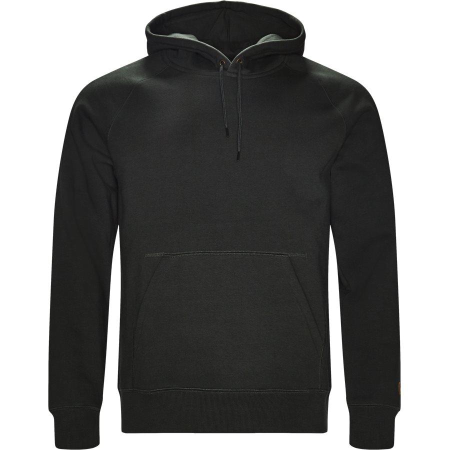 HOODED CHASE I026384. - Hooded Chase Sweatshirt - Sweatshirts - Regular - LODEN/GOLD - 1