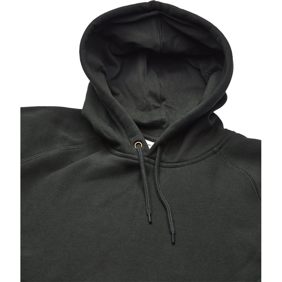 HOODED CHASE I026384. - Hooded Chase Sweatshirt - Sweatshirts - Regular - LODEN/GOLD - 3
