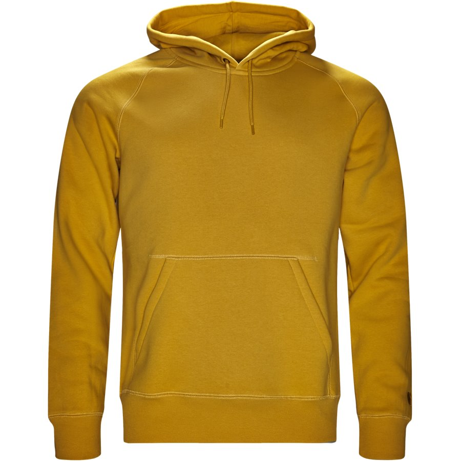 HOODED CHASE I026384 - Hooded Chase Sweatshirt - Sweatshirts - Regular - QUINCE/GOLD - 1