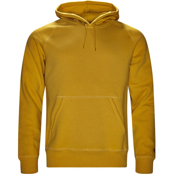 Hooded Chase Sweatshirt - Sweatshirts - Regular - Gul