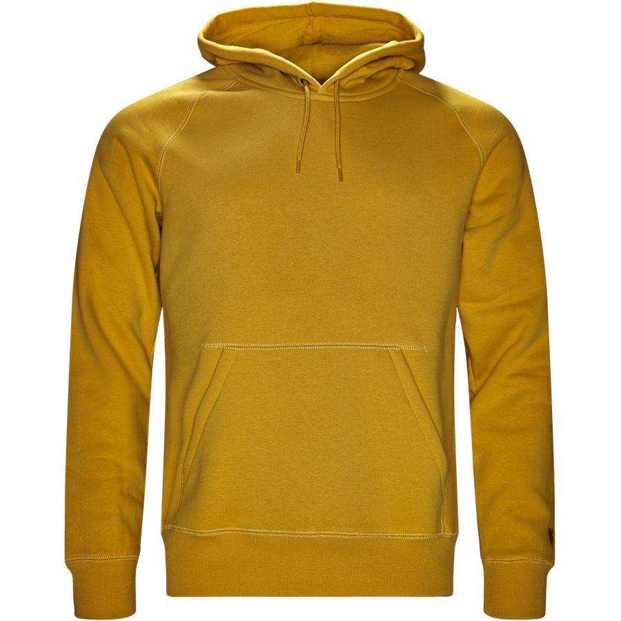 HOODED CHASE I026384. - Hooded Chase Sweatshirt - Sweatshirts - Regular - QUINCE/GOLD - 1