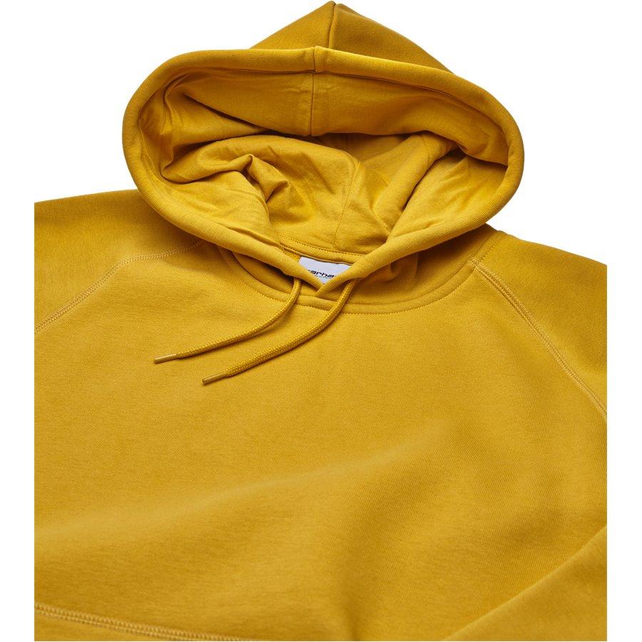 HOODED CHASE I026384. - Hooded Chase Sweatshirt - Sweatshirts - Regular - QUINCE/GOLD - 3