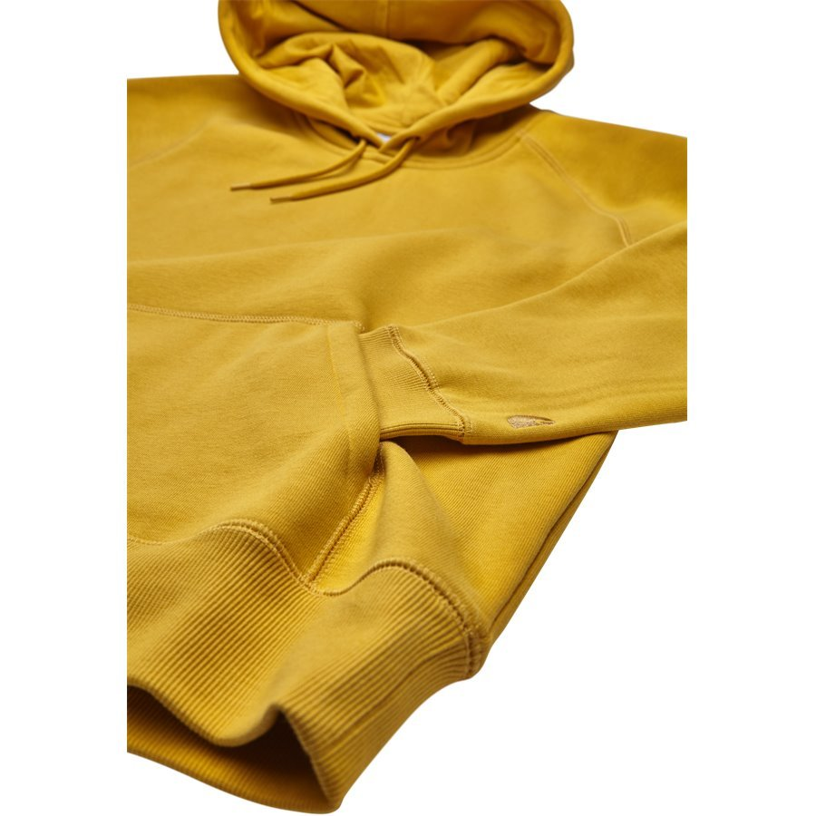 HOODED CHASE I026384 - Hooded Chase Sweatshirt - Sweatshirts - Regular - QUINCE/GOLD - 4