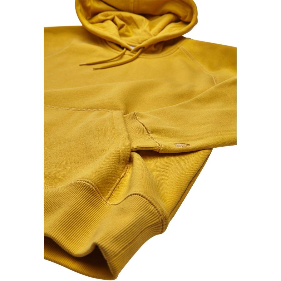 HOODED CHASE I026384. - Hooded Chase Sweatshirt - Sweatshirts - Regular - QUINCE/GOLD - 4