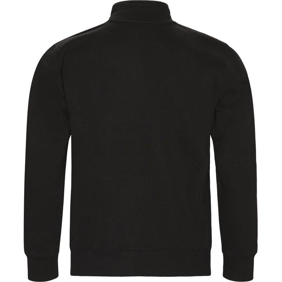 CHASE NECK JACKET I026387 - Chase Neck Jacket - Sweatshirts - Regular - BLACK/GOLD - 2