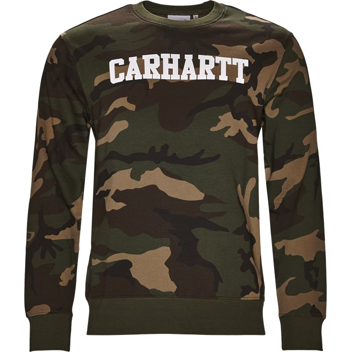 College Sweatshirt - Sweatshirts - Regular - Army
