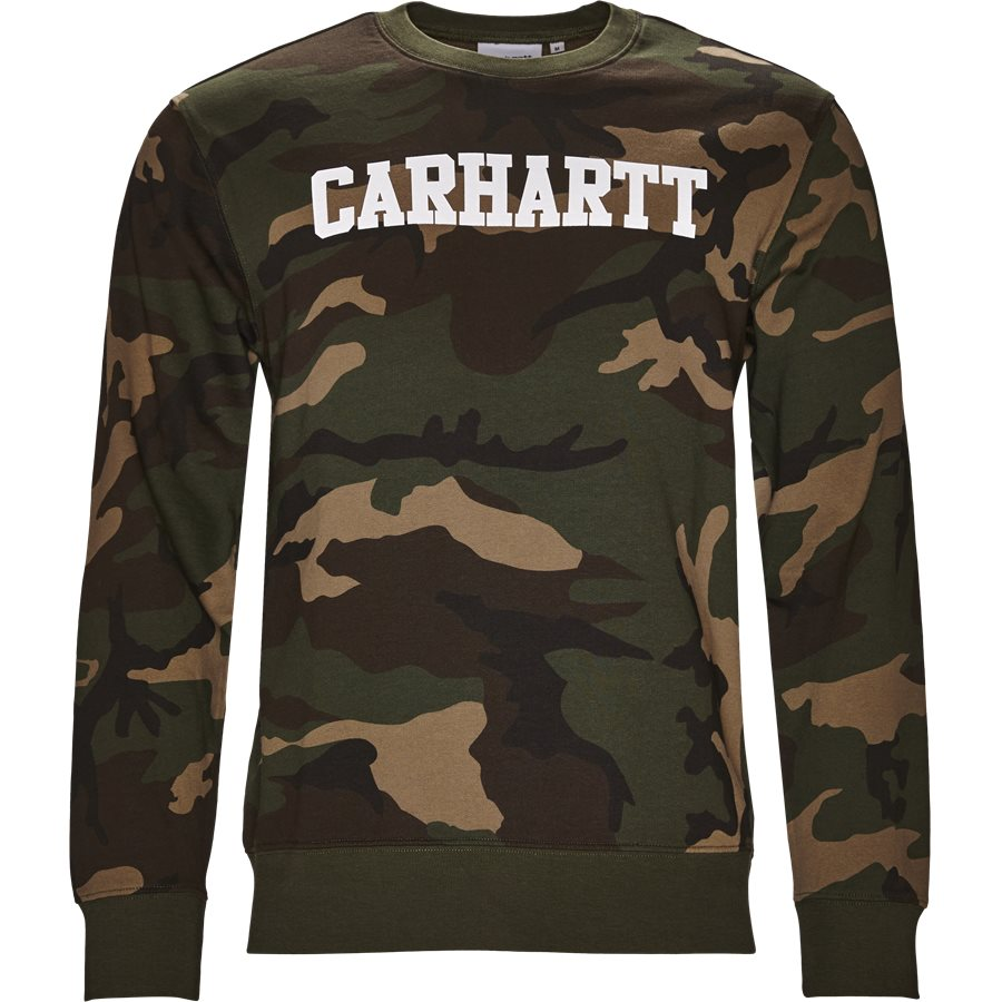 COLLEGE I024668 - College Sweatshirt - Sweatshirts - Regular - CAMO/WHITE - 1