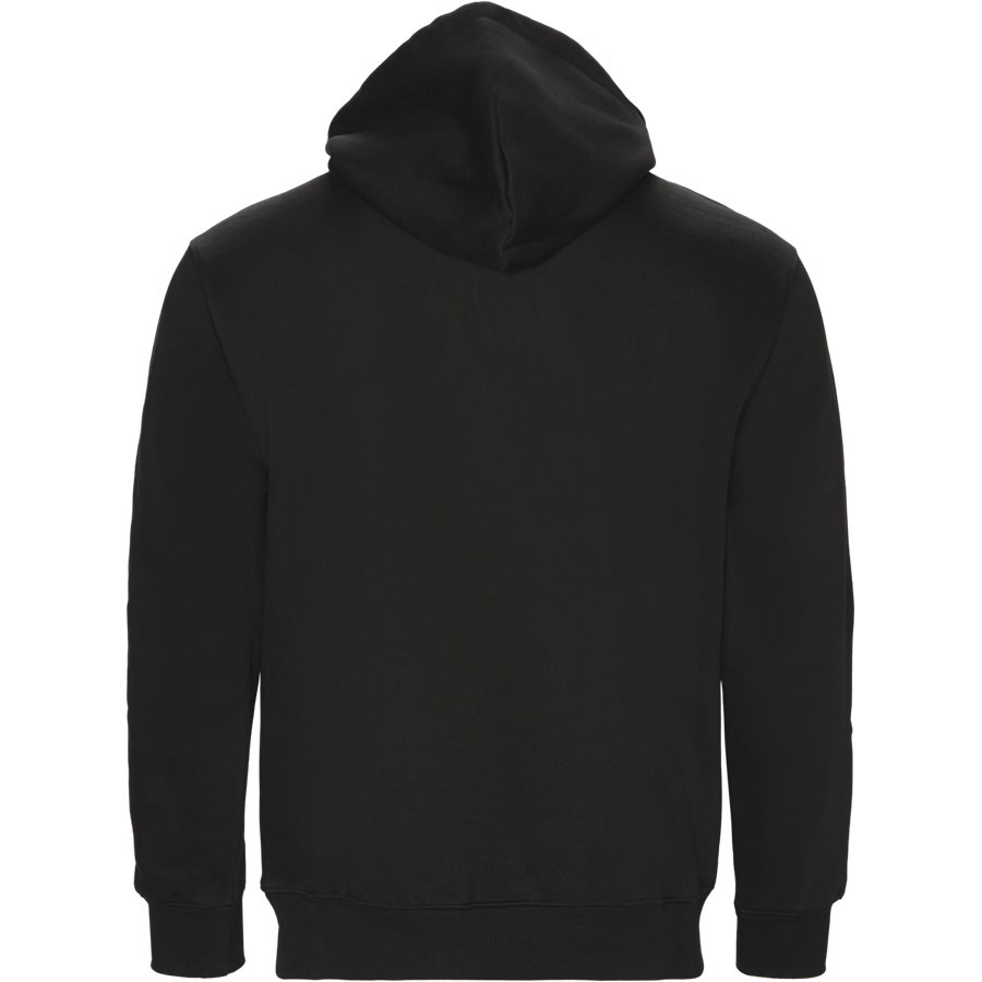 HOODED CARHARTT I025479 - Hooded Carhartt Sweatshirt - Sweatshirts - Regular - BLACK/BLACK - 2