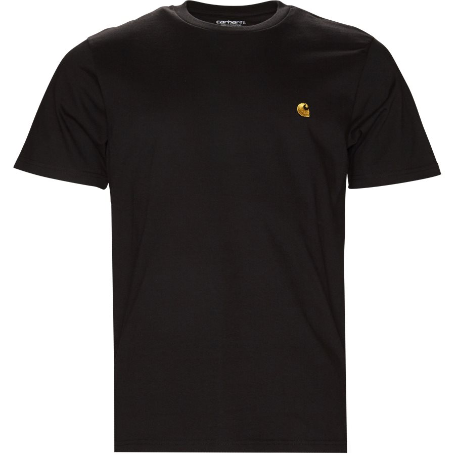 S/S CHASE TEE I026391 - S/S Chase Tee - T-shirts - Regular - BLACK/GOLD - 1