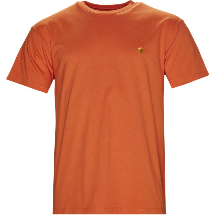 S/S Chase Tee - T-shirts - Regular - Orange