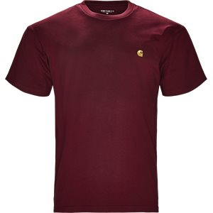 S/S Chase Tee Regular | S/S Chase Tee | Bordeaux