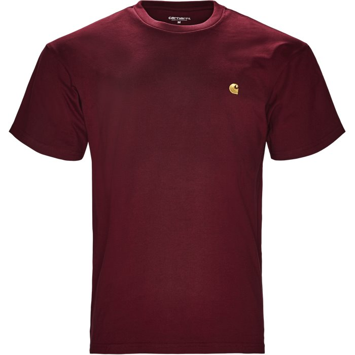 S/S Chase Tee - T-shirts - Regular - Bordeaux