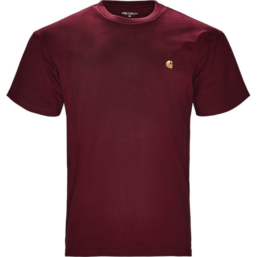 S/S CHASE TEE I026391 - S/S Chase Tee - T-shirts - Regular - MULBERRY/GOLD - 1