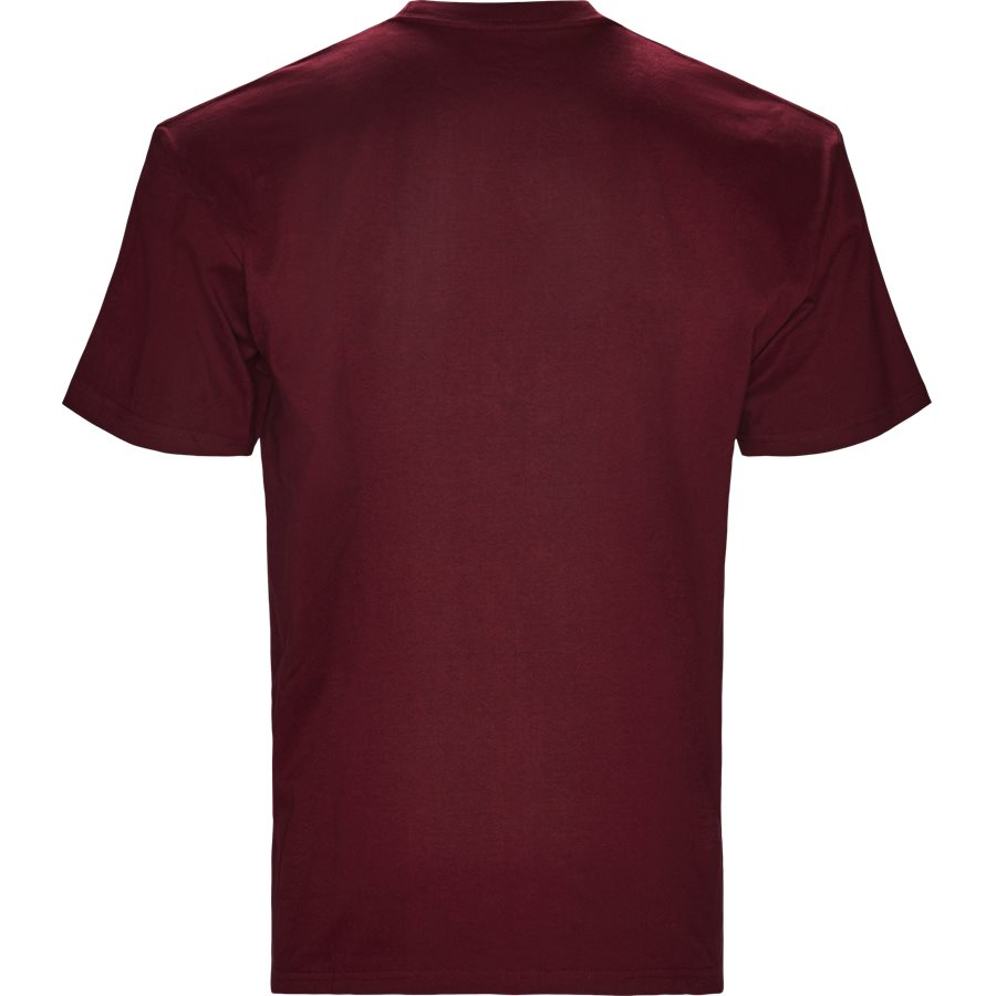 S/S CHASE TEE I026391 - S/S Chase Tee - T-shirts - Regular - MULBERRY/GOLD - 2