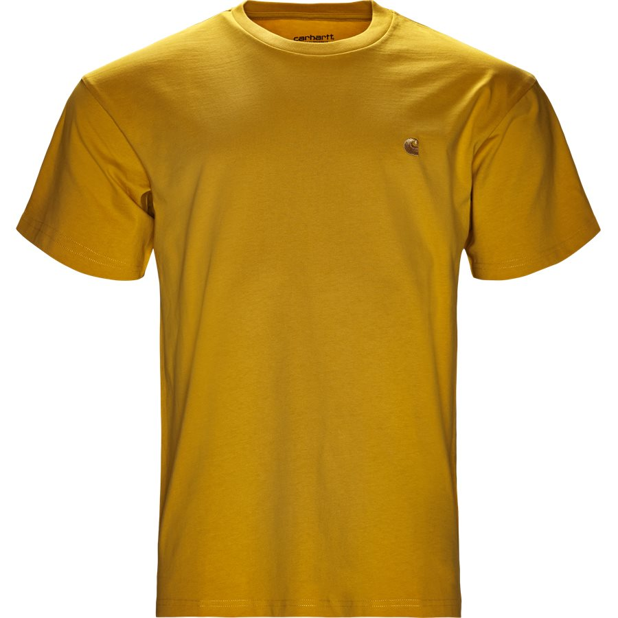 S/S CHASE TEE I026391 - S/S Chase Tee - T-shirts - Regular - QUINCE/GOLD - 1