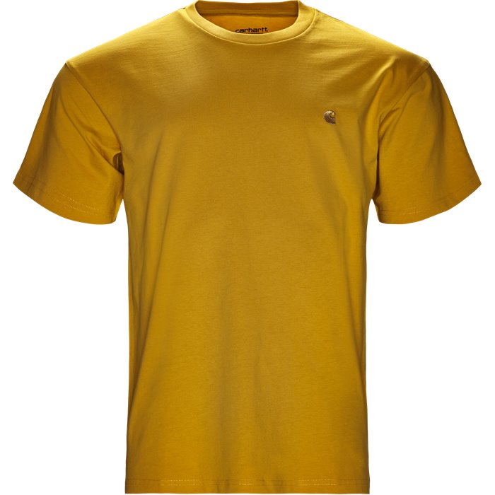 S/S Chase Tee - T-shirts - Regular - Gul