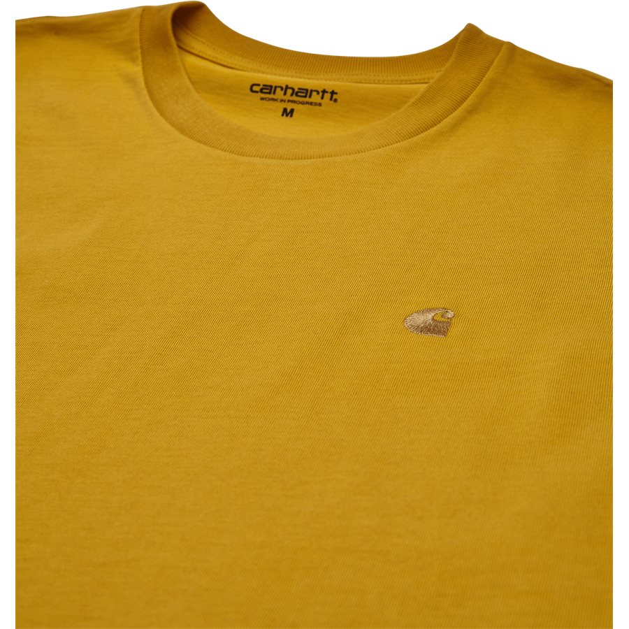 S/S CHASE TEE I026391 - S/S Chase Tee - T-shirts - Regular - QUINCE/GOLD - 3
