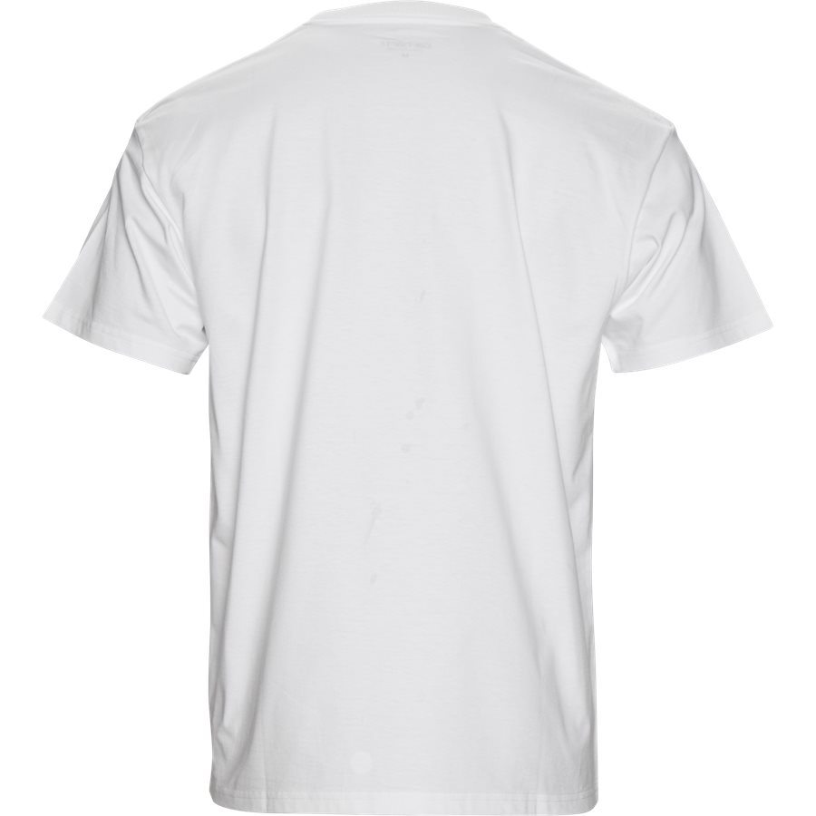 S/S CHASE TEE I026391 - S/S Chase Tee - T-shirts - Regular - WHITE/GOLD - 2