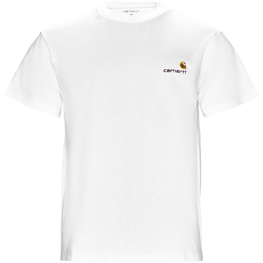 S/S AMERICAN SCRIPT I025711 - S/S American Script - T-shirts - Regular - WHITE - 1
