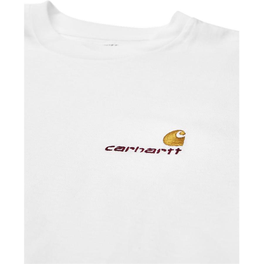 S/S AMERICAN SCRIPT I025711 - S/S American Script - T-shirts - Regular - WHITE - 3