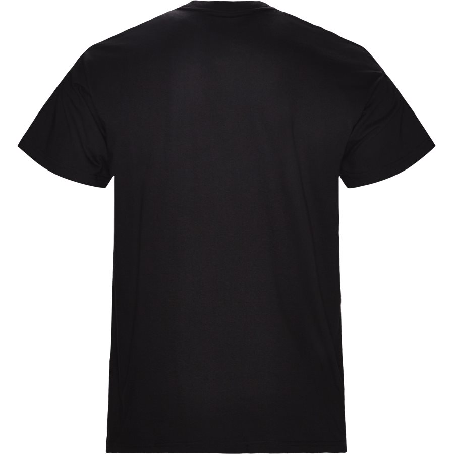 S/S BURNING C I025760 - S/S Burning C - T-shirts - Regular - BLACK - 2
