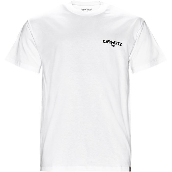 S/S Mountain - T-shirts - Regular - Hvid