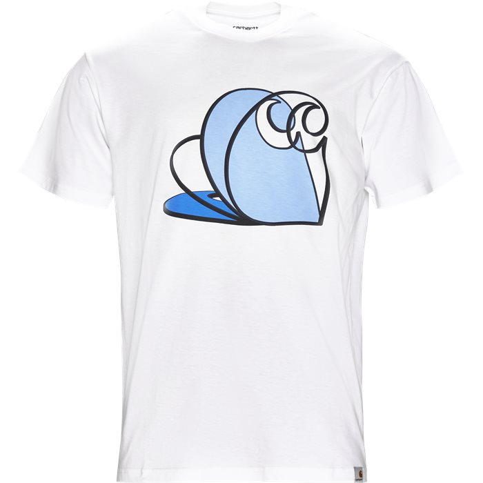 S/S Layer C - T-shirts - Regular - Hvid