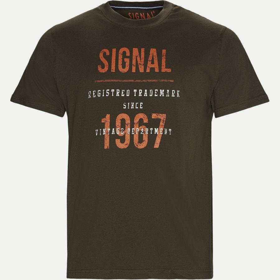 SHANE - Logo T-shirt - T-shirts - Regular - ARMY - 1