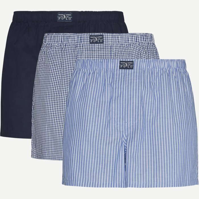 3-pack Boxers - Undertøj - Regular - Blå