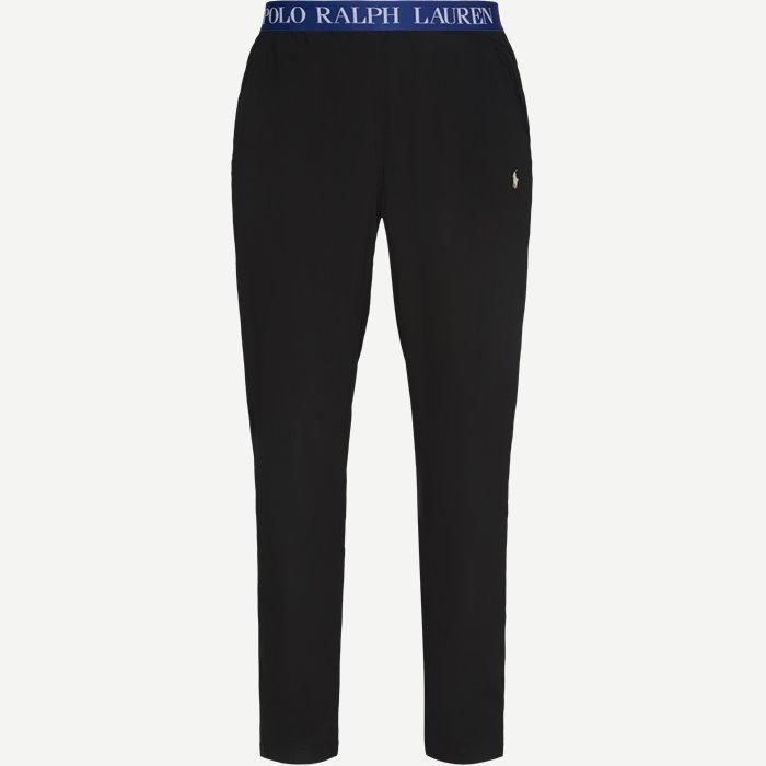 Pyjamasbukser  - Undertøj - Regular - Sort