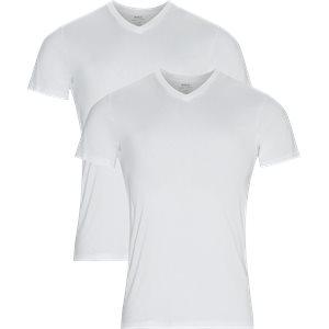 2-Pack V-Neck T-shirt Regular | 2-Pack V-Neck T-shirt | Hvid
