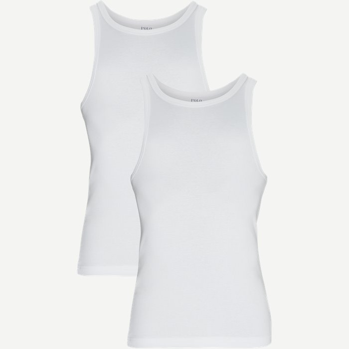 2-pack Tank Top - Undertøj - Regular - Hvid