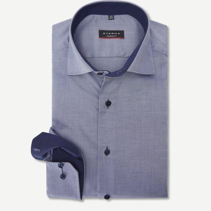 8464 Skjorte - Skjorter - Modern fit - Blå